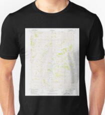 USGS TOPO Maps Iowa IA Guss 174774 1980 24000 Unisex T-Shirt