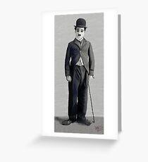 Charlie Chaplin 2 Greeting Card