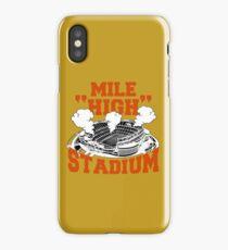 Mile High Stadium iPhone Case/Skin