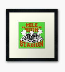 Mile High Stadium Framed Print