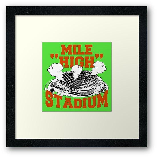 Mile High Stadium by trendism