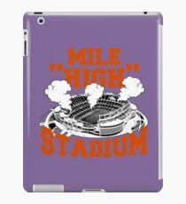 Mile High Stadium iPad Case/Skin