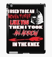 An Arrow In The Knee iPad Case/Skin