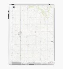 USGS TOPO Maps Iowa IA Glidden 20130415 TM iPad Case/Skin