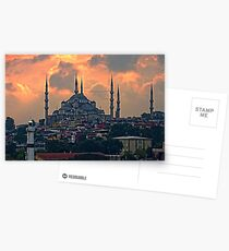 The Blue Mosque, Istanbul Postcards
