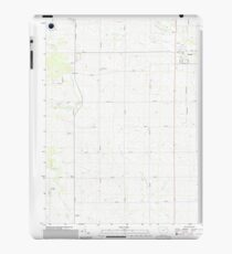 USGS TOPO Maps Iowa IA Lamont 20130417 TM iPad Case/Skin