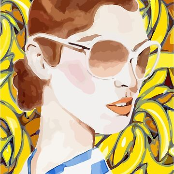 Banana Girl T-Shirt by CascudoGifts