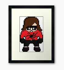 Italian Spidermans Framed Print