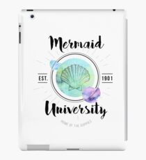 Mermaid University iPad Case/Skin