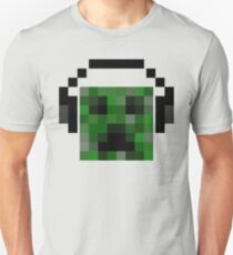 Minecraft Creeper Pixel Art Unisex T-Shirt