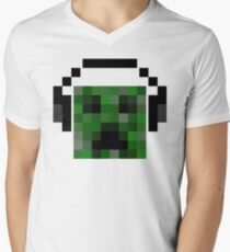 Minecraft Creeper Pixel Art T-Shirt