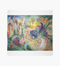 praise him with the timbrel and dance scarf - Large Wall Hangings