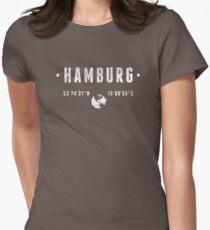Hamburg Womens Fitted T-Shirt