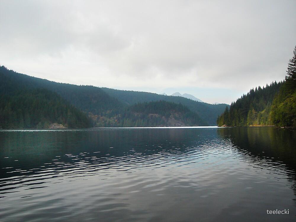 Buntzen Lake by teelecki