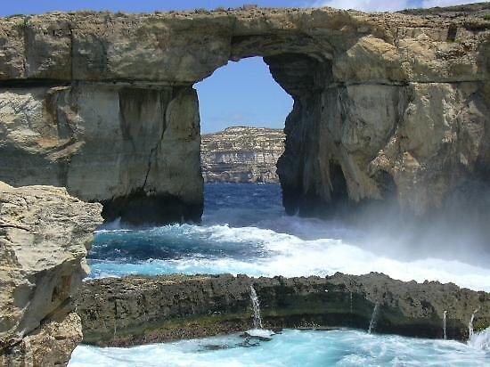 Blue hole, Malta by chord0