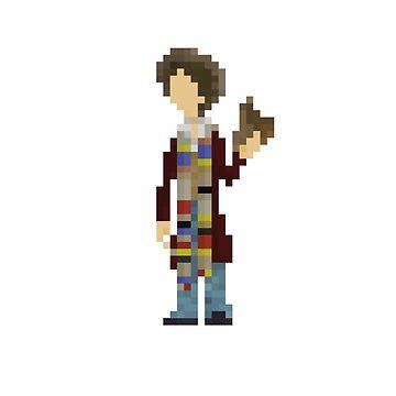 The Fourth Doctor by mariusfinnstun