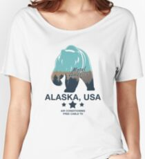 American Gods - Motel America Alaska branch Women's Relaxed Fit T-Shirt