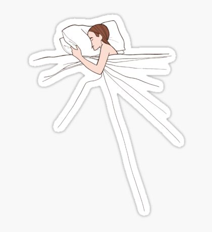 Mmm. Sleep. Sticker