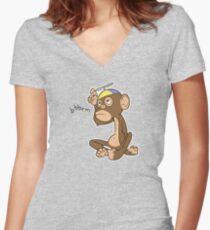 Bbbrm! - Light Women's Fitted V-Neck T-Shirt