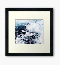 Sea water Framed Print