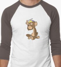 Bbbrm! - Dark Men's Baseball ¾ T-Shirt