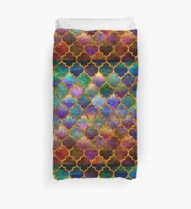 Arabic moroccan mosaic pattern Duvet Cover