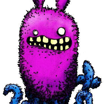 Creepy Octobunny by onibug