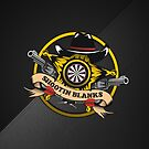 Shootin' Blanks Darts Team by mydartshirts