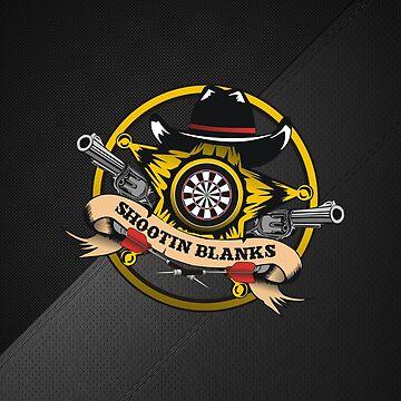 Shootin' Blanks Darts Team by mydartshirts