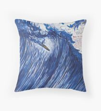 RAYMOND PETTIBON , Untitled (Going with the flow) , 2000 Throw Pillow