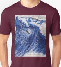 RAYMOND PETTIBON , Untitled (Going with the flow) , 2000 Unisex T-Shirt