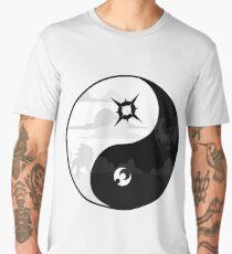 Sun and Moon Yin and Yang Men's Premium T-Shirt