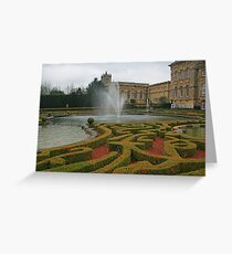 Water Terraces Greeting Card