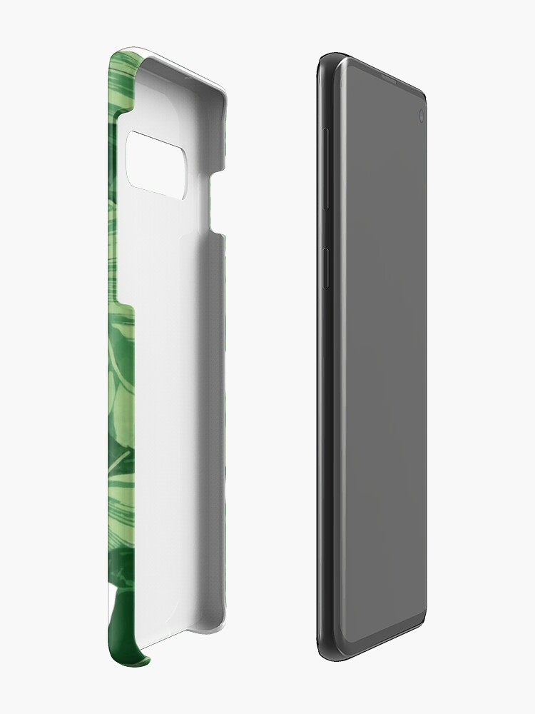 Alternate view of Tropical banana leaves II Case & Skin for Samsung Galaxy