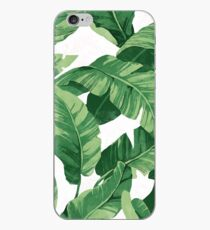 Tropical banana leaves II iPhone-Hülle & Cover
