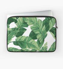 Tropical banana leaves II Laptoptasche