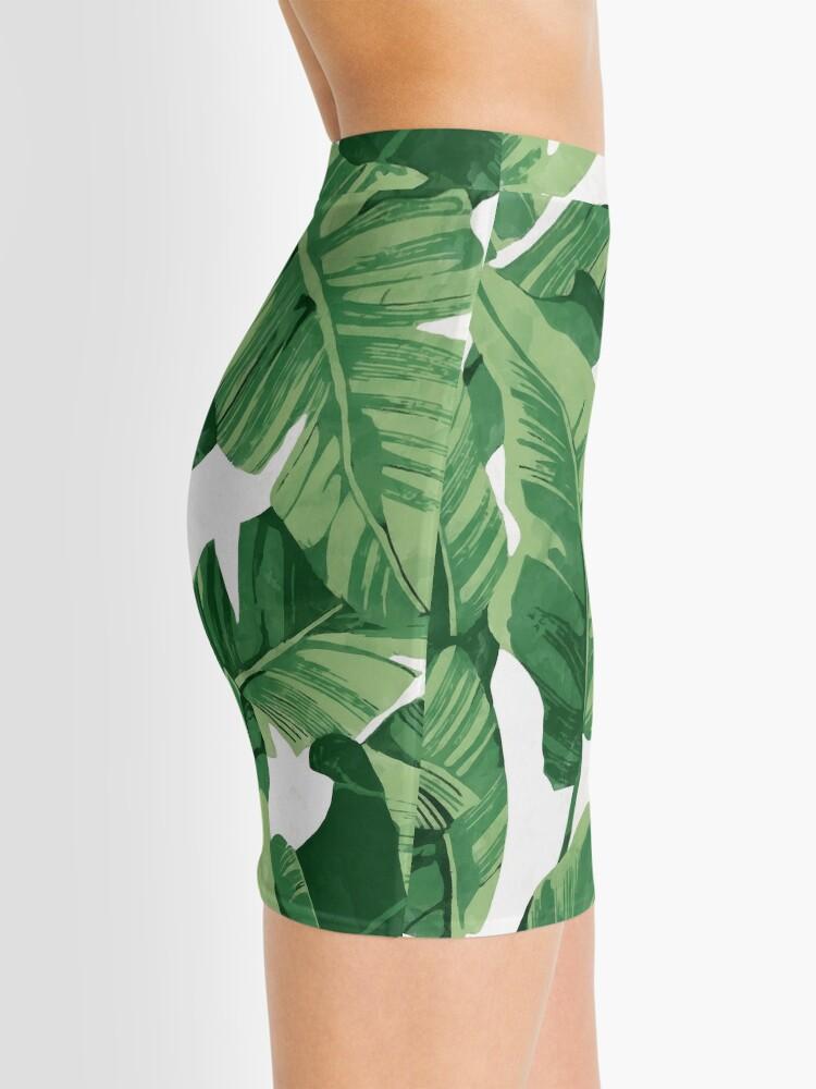 Alternate view of Tropical banana leaves II Mini Skirt