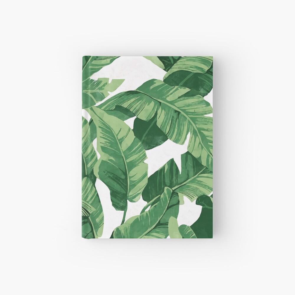 Tropical banana leaves II Hardcover Journal