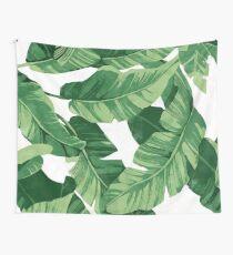 Tropical banana leaves II Wandbehang