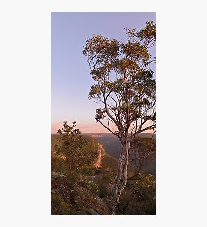 Sunrise Cliffline towards Bell from Anvil Rock Track Photographic Print