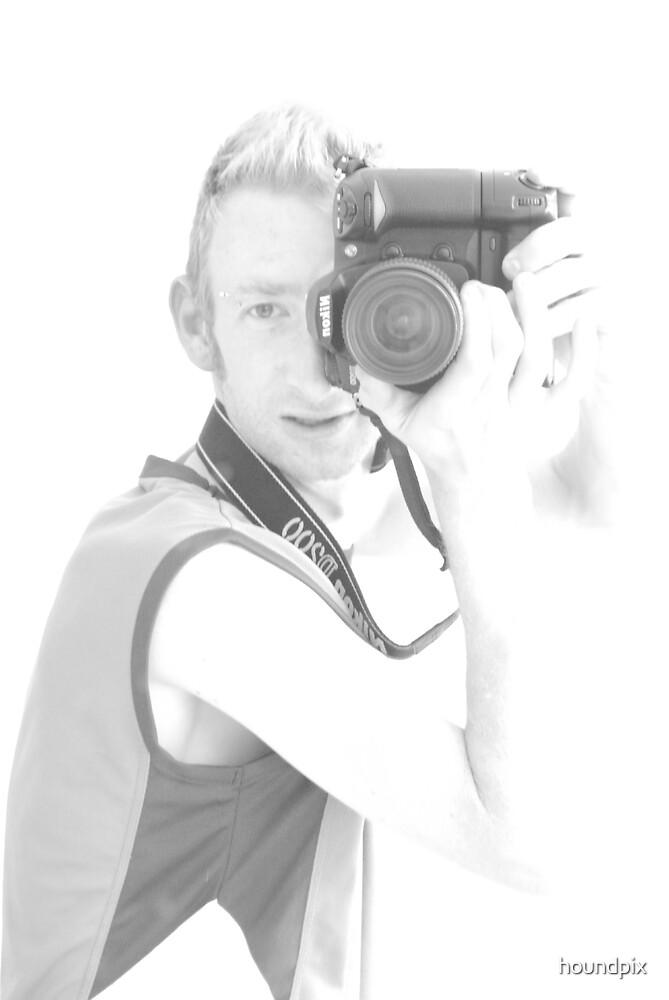 Self Portrait  by houndpix