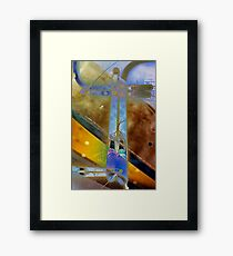 Bullet Machine Framed Print