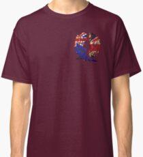 AUSTRALIA BRITAIN WOLF LOVE Classic T-Shirt
