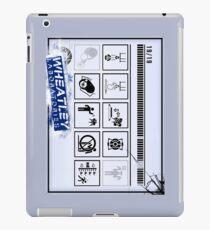 Wheatley Laboratories, Long Test Chamber Sign iPad Case/Skin