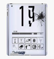 Wheatley Laboratories, Tall Test Chamber Sign iPad Case/Skin