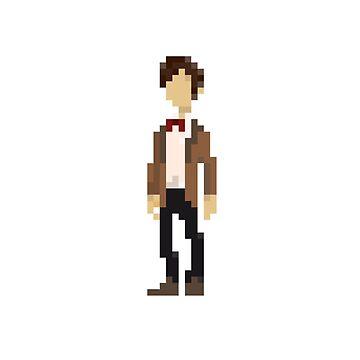 The Eleventh Doctor by mariusfinnstun