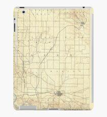 USGS TOPO Maps Iowa IA Marion 175087 1888 62500 iPad Case/Skin
