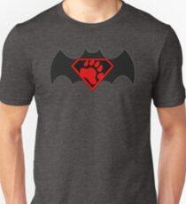 SuperBear Vs BatBear Unisex T-Shirt