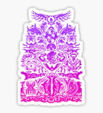 Warrior Tatau (Blood Dragon Version) Sticker