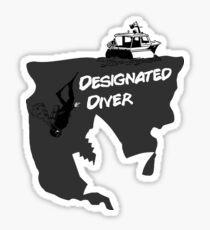 Designated Diver Sticker